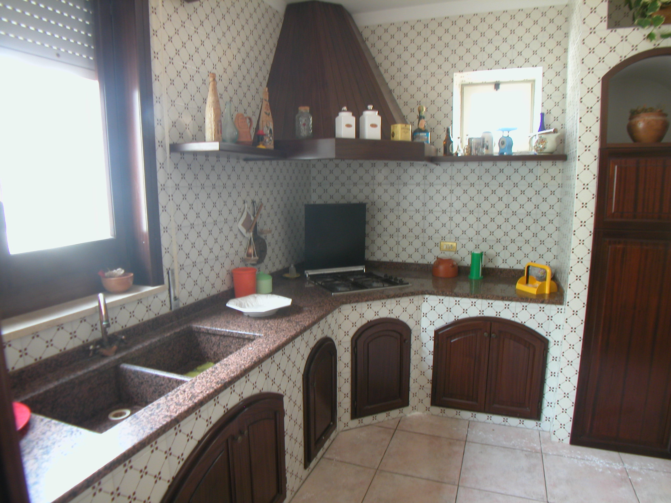 Come fare una cucina in muratura